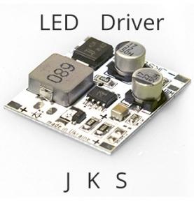 Стабилизатор тока JKS 500-1500мА ШИМ (драйвер)